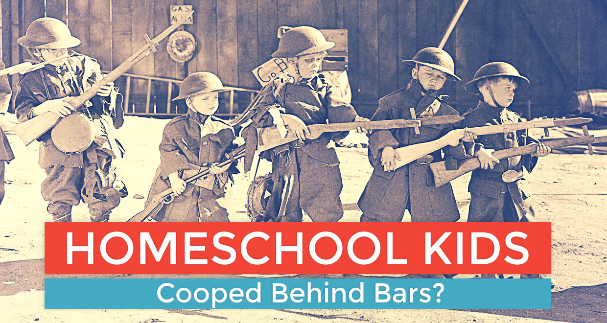 Homeschool Kids: Cooped Behind Bars?