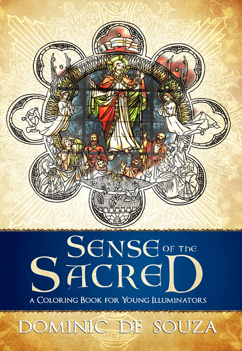 Sense of the Sacred Coloring Book