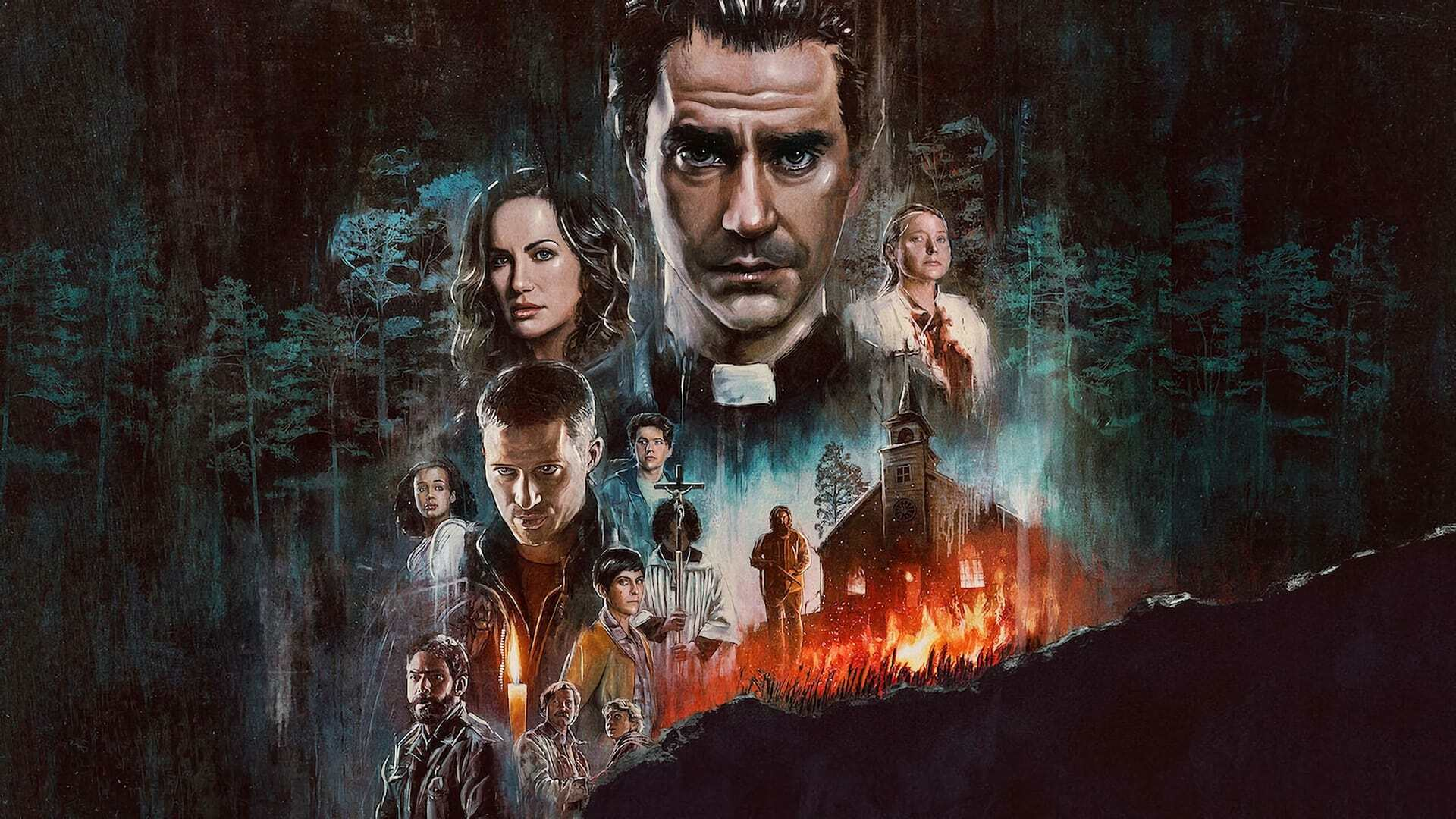 Netflix Midnight Mass: freedom and sacrifice in the dark night of evil